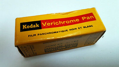 Kodak Verichrome Pan Panchromatic Film Vp620 B&w Neuf/unsealed Janv/january 1965