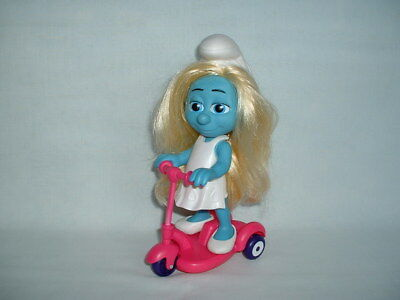 THE SMURFS SMURFETTE SMURF Fashion Doll Action Figure Toy Set & Scooter (2/PEYO)