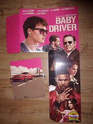 Baby Driver Promo Movie Header Piece - Used -