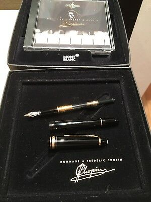 Mont Blanc Hommage A'Frederic Chopin Meisterstück Fountain Pen P145