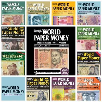 NEW! 2017 KRAUSE World Banknotes PAPER MONEY (1961-MI) - 11 PDF Digital Catalogs