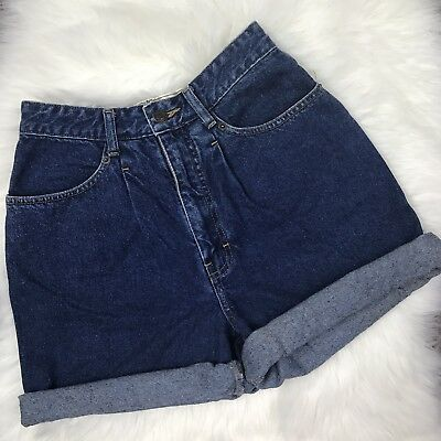 Vintage Brittania High Waisted Jean Shorts Size 6