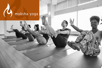 Moksha Yoga Thornhill and North York in Ontario - 1 Year Membership for 1 Person