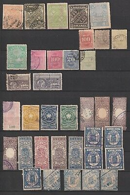 Brazil lot back in the book, Dues, revenue, news paper classic used, mixed quali