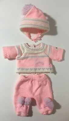 1985 Coleco SS tag Vtg CPK Cabbage Patch Kids Bean Baby 3 pc outfit HTF