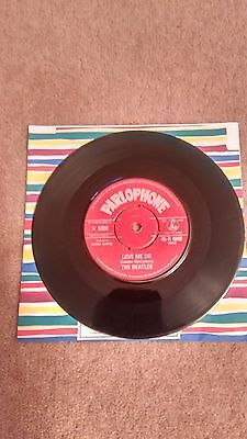 "Beatles Love Me Do 7"" Single"
