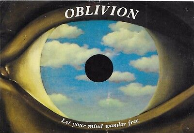Oblivion - Rave Flyer 1991 - Private Free Party, Warehouse