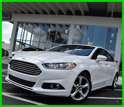 2014 Ford Fusion SE 2014 SE Used 2.5L I4 16V Automatic FWD Sedan LCD