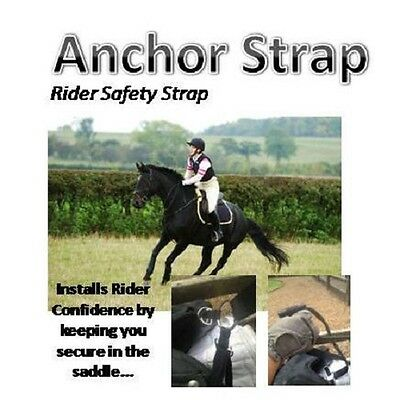 ANCHOR STRAP Rider Safety Strap, stay safe in the saddle *** NEW *** Neck Strap