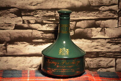 King´s Privilege 21 Year Old Scotch Whisky Decanter Leer  #c0092