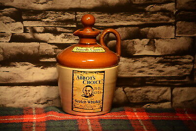 The Abbot`s Choice Finest Old Scotch Whisky Decanter Leer  #c0045