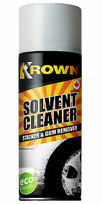 Krown Solvent Cleaner - Road Tar Sticker & Gum Remover