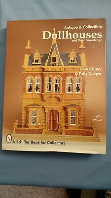 Antique and Collectible Dollhouses and Furnishings Guide Book-Zillner&Cooper