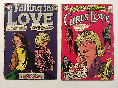 Falling in Love #73 & Girls' Love Stories #113 (1965, DC)