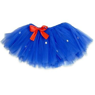 (Blue/Red) - Runners Premium Tutu | Lightweight | One Size Fits Most |