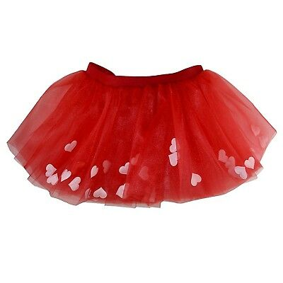 (Red) - Runners Premium Tutu | Lightweight | One Size Fits Most | Colourful
