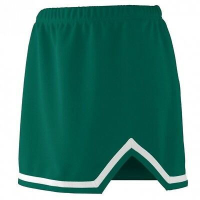 (Large, Dark Green/White) - Augusta Sportswear 9125 Women's Energy Skirt