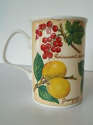 "Bone China Roy Kirkham ""Parchment Fruit"" Mug 2000."