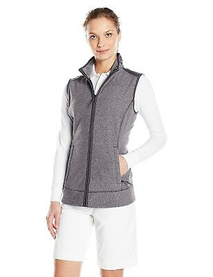 (X-Large, Charcoal Heather) - Cutter & Buck Women's Cb Weathertec Cedar Park
