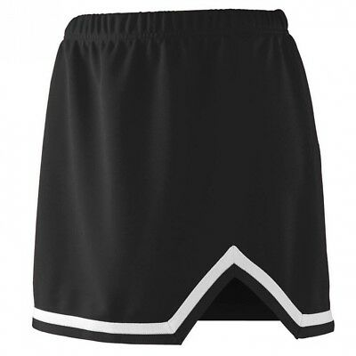 (Large, Black/White) - Augusta Sportswear 9125 Women's Energy Skirt