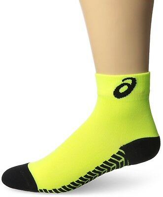 (Medium, Neon/Black) - ASICS Snap Down It Socks. Huge Saving