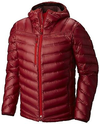 (X-Large, Smolder Red) - Mountain Hardwear StretchDown RS Hooded Outdoor