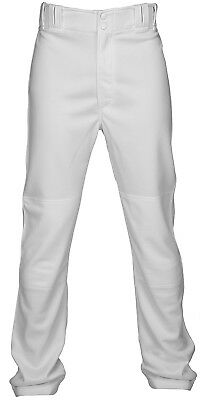 (Medium, White) - Marucci Adult Performance Stretch Baseball Pant