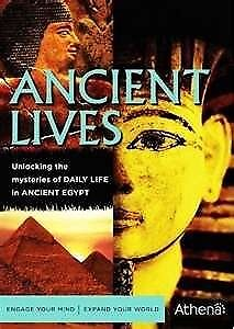 ANCIENT LIVES DAILY LIFE IN EGYPT OF PHARAOHS By John Romer - Hardcover **NEW**