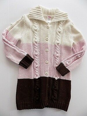 5T girls Gymboree Vguc Fall Sweeter Than Chocolate sweater duster A608
