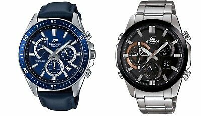 Casio Edifice Men's Quartz Chronograph Date Display Sport 45mm Watch