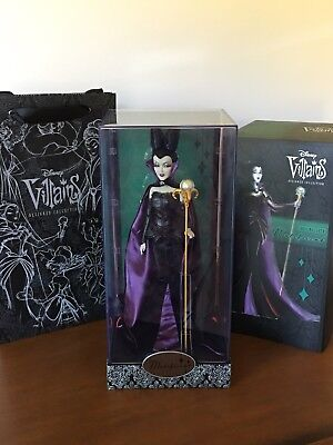 Disney Store Villains Designer Doll Collection Maleficent Limited Edition Bag LE