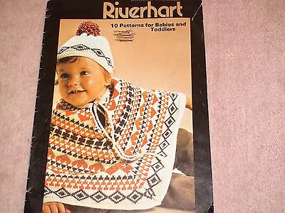 Knitting Machine Magazine/ Book: Riverhart Babies And Toddlers