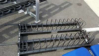 Hammer Strength Bumper Plate Storage - Cleaned & Serviced