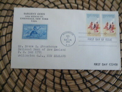 United States  fdc 1961 Fredrick Remington Artist of the West