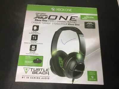 Turtle Beach Earforce XO One Black Headband Headsets for Microsoft Xbox One