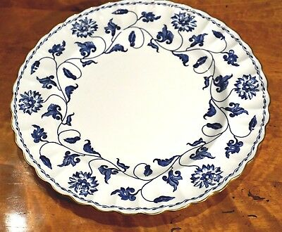 Beautiful Spode Colonel Blue Lunch Plate