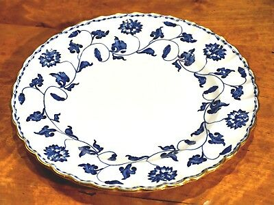 Beautiful Spode Colonel Blue Entree Plate