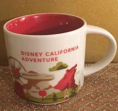 Disney California Adventure Starbucks YOU ARE HERE COLLECTION Mug - NEW