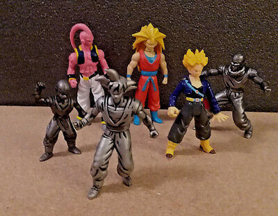 Dragon Ball Z Action Figures Lot of 6 Irwin/Burger King Kid's Meal Collectibles