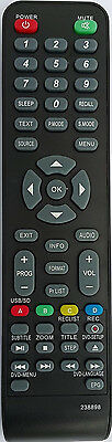 LED LCD HD TV Remote for VIVO, VIANO -100% REPLACEMENT Remote