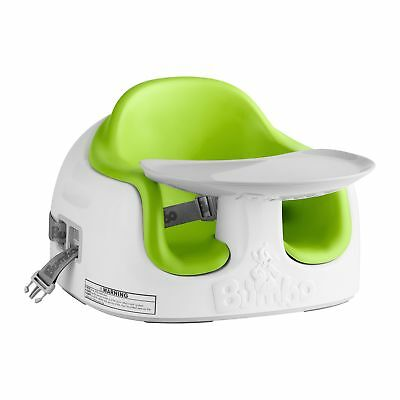 Bumbo Feeding Multi Booster Seat - 6 Months Baby to 15kg - Lime