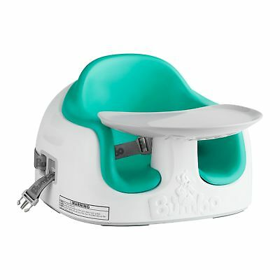 Bumbo Feeding Multi Booster Seat - 6 Months Baby to 15kg - Aqua