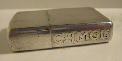 1998 Full Size Zippo Camel Reverse Etched On Edge