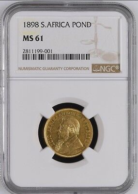 1898 South Africa Pond - Ngc Ms 61