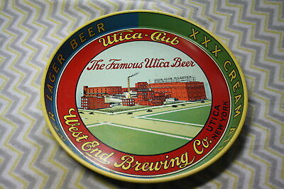 Beautiful Utica-Club West End Brewing Co. Utica New York Beer Tray