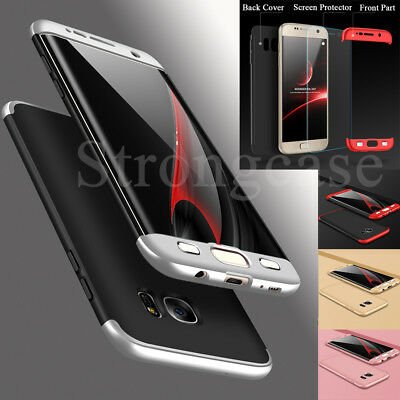 Ultra Thin Slim 360° Shockproof Case Cover For Samsung Galaxy S6 S7 Edge S8 Plus