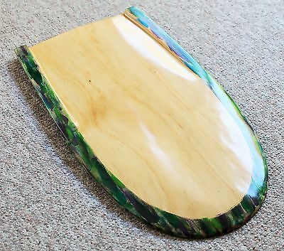 Owen Surfcraft- Handmade Wooden Bellyboard Kickboard Paipo- The Booger Bullet.