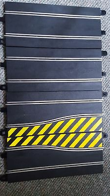 -Scalextrc 2 x Side Swipe and 2 x Long Straights  IN GOOD CONDITION!.