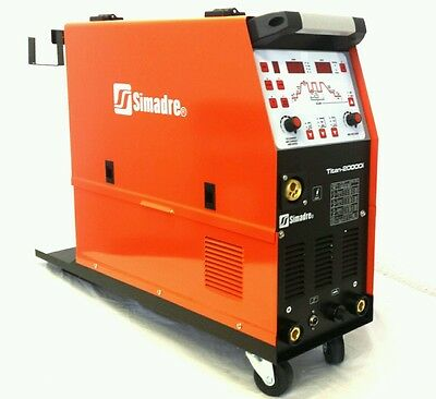 MIG TIG MMA/ARC SIMADRE INDUSTRY TITAN-2000Di DIGITAL 3IN1 WELDER SYNERGIC SALE