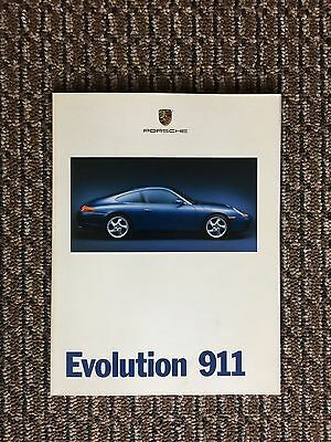 "1998 Porsche 911 ""Evolution 911"" Showroom Advertising Sales Brochure  (1127)"